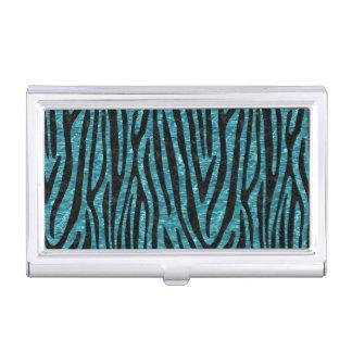 SKIN4 BLACK MARBLE & BLUE-GREEN WATER BUSINESS CARD HOLDER