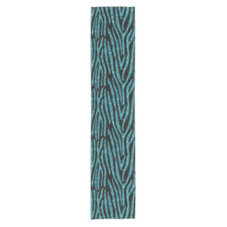 SKIN4 BLACK MARBLE & BLUE-GREEN WATER (R) SHORT TABLE RUNNER