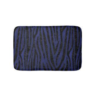SKIN4 BLACK MARBLE & BLUE LEATHER BATH MAT