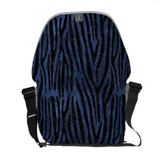 SKIN4 BLACK MARBLE & BLUE STONE COURIER BAG