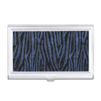 SKIN4 BLACK MARBLE & BLUE STONE (R) BUSINESS CARD HOLDER