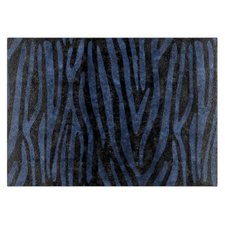 SKIN4 BLACK MARBLE & BLUE STONE (R) CUTTING BOARD