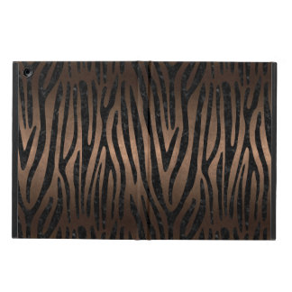 SKIN4 BLACK MARBLE & BRONZE METAL CASE FOR iPad AIR