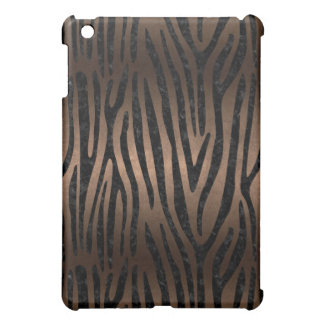 SKIN4 BLACK MARBLE & BRONZE METAL iPad MINI CASES