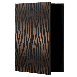 SKIN4 BLACK MARBLE & BRONZE METAL POWIS iPad AIR 2 CASE