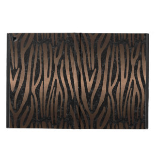 SKIN4 BLACK MARBLE & BRONZE METAL (R) iPad AIR COVER