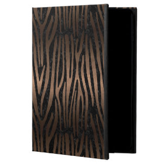 SKIN4 BLACK MARBLE & BRONZE METAL (R) POWIS iPad AIR 2 CASE