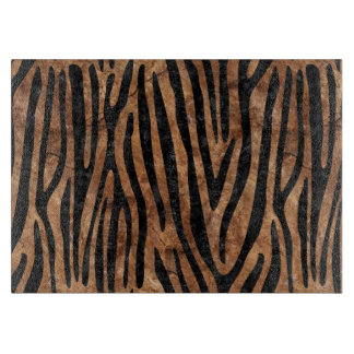 SKIN4 BLACK MARBLE & BROWN STONE CUTTING BOARD