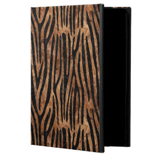 SKIN4 BLACK MARBLE & BROWN STONE POWIS iPad AIR 2 CASE