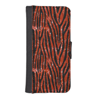 SKIN4 BLACK MARBLE & RED MARBLE iPhone SE/5/5s WALLET CASE