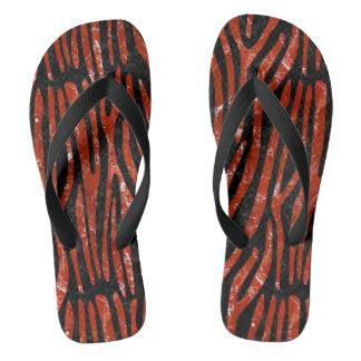 SKIN4 BLACK MARBLE & RED MARBLE (R) THONGS