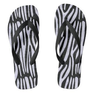 SKIN4 BLACK MARBLE & WHITE MARBLE (R) THONGS