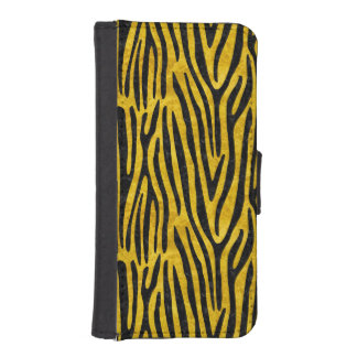 SKIN4 BLACK MARBLE & YELLOW MARBLE iPhone SE/5/5s WALLET CASE