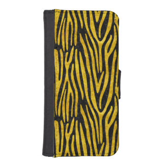 SKIN4 BLACK MARBLE & YELLOW MARBLE (R) iPhone SE/5/5s WALLET CASE