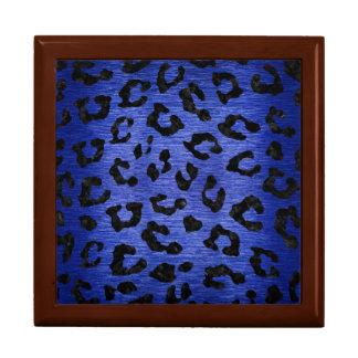 SKIN5 BLACK MARBLE & BLUE BRUSHED METAL GIFT BOX
