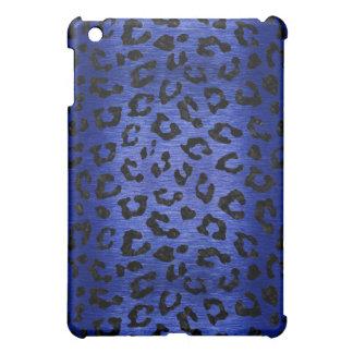 SKIN5 BLACK MARBLE & BLUE BRUSHED METAL iPad MINI COVER