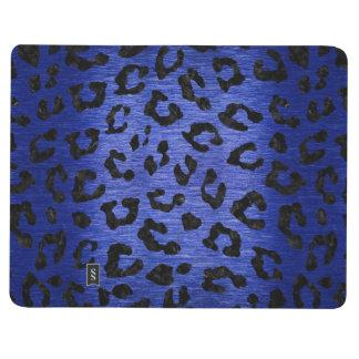 SKIN5 BLACK MARBLE & BLUE BRUSHED METAL JOURNAL