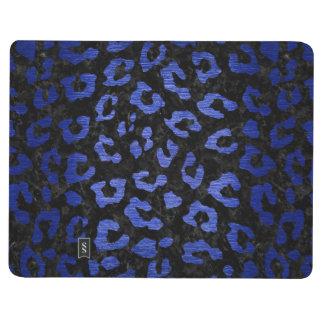SKIN5 BLACK MARBLE & BLUE BRUSHED METAL (R) JOURNAL