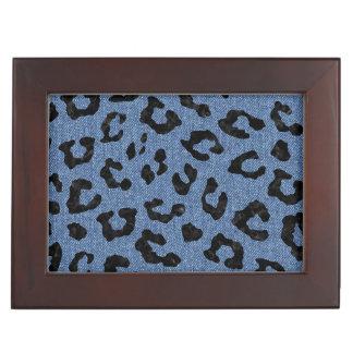 SKIN5 BLACK MARBLE & BLUE DENIM KEEPSAKE BOX