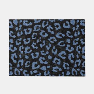 SKIN5 BLACK MARBLE & BLUE DENIM (R) DOORMAT