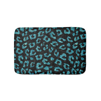 SKIN5 BLACK MARBLE & BLUE-GREEN WATER (R) BATH MAT