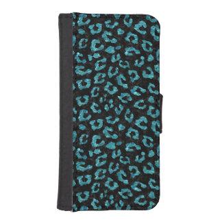 SKIN5 BLACK MARBLE & BLUE-GREEN WATER (R) iPhone SE/5/5s WALLET CASE