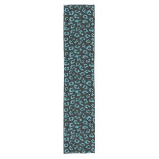 SKIN5 BLACK MARBLE & BLUE-GREEN WATER (R) SHORT TABLE RUNNER