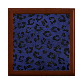 SKIN5 BLACK MARBLE & BLUE LEATHER GIFT BOX