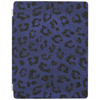 SKIN5 BLACK MARBLE & BLUE LEATHER iPad COVER