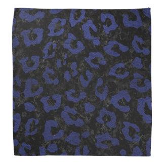 SKIN5 BLACK MARBLE & BLUE LEATHER (R) BANDANA