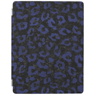 SKIN5 BLACK MARBLE & BLUE LEATHER (R) iPad COVER