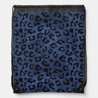 SKIN5 BLACK MARBLE & BLUE STONE DRAWSTRING BAG