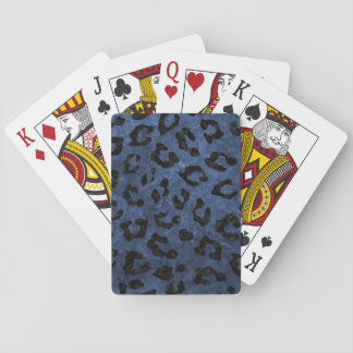 SKIN5 BLACK MARBLE & BLUE STONE PLAYING CARDS