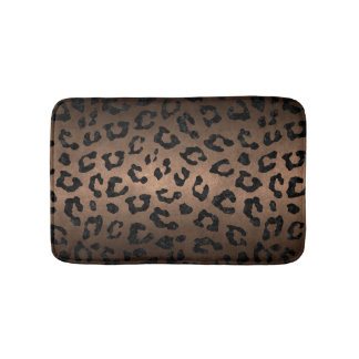 SKIN5 BLACK MARBLE & BRONZE METAL BATH MAT