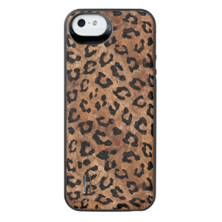SKIN5 BLACK MARBLE & BROWN STONE iPhone SE/5/5s BATTERY CASE