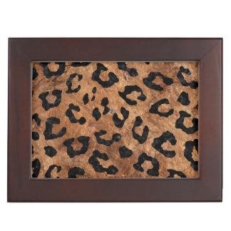 SKIN5 BLACK MARBLE & BROWN STONE KEEPSAKE BOX