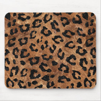 SKIN5 BLACK MARBLE & BROWN STONE MOUSE PAD