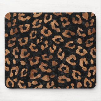 SKIN5 BLACK MARBLE & BROWN STONE (R) MOUSE PAD