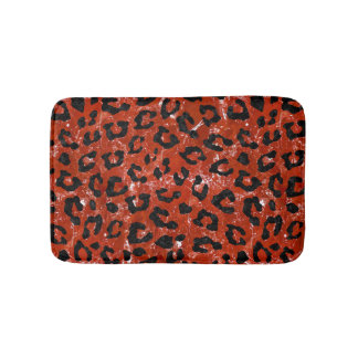 SKIN5 BLACK MARBLE & RED MARBLE BATH MAT