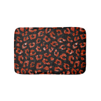 SKIN5 BLACK MARBLE & RED MARBLE (R) BATH MAT