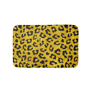 SKIN5 BLACK MARBLE & YELLOW MARBLE BATH MAT