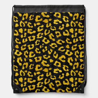 SKIN5 BLACK MARBLE & YELLOW MARBLE (R) DRAWSTRING BAG