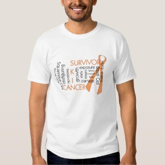 Skin Cancer Survivor D4 :: Puzzle Words Tee Shirts