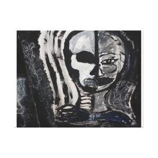 """skin"" canvas print"