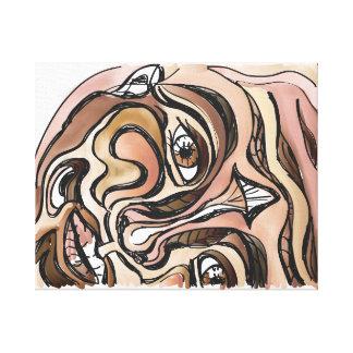 'Skin Deep' 20x16 Premium Canvas (Gloss)