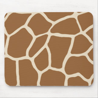 Skin Pattern, Colors of the Giraffe Mouse Pad