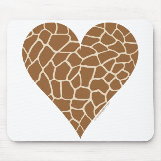 Skin Pattern, Colors of the Giraffe Mouse Pads