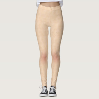 Skin Style Texture With Freckles Leggings
