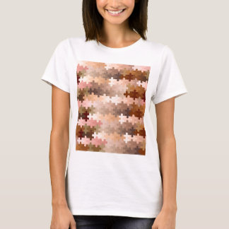 Skin Tone Jigsaw Pieces T-Shirt