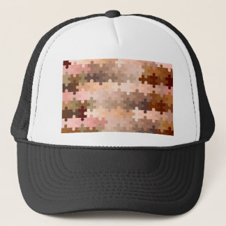Skin Tone Jigsaw Pieces Trucker Hat